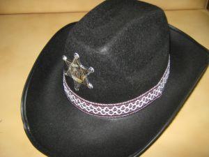 Шляпа Шерифа люкс