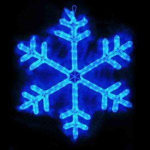 "Фигура ""Снежинка синяя"" (60х60 см.)"