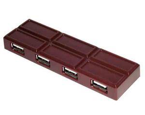 USB HUB Шоколад