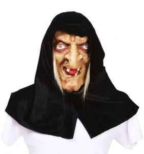 Баба Яга в черном платке