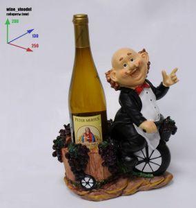 Подставка для вина «Винодел на велосипеде»
