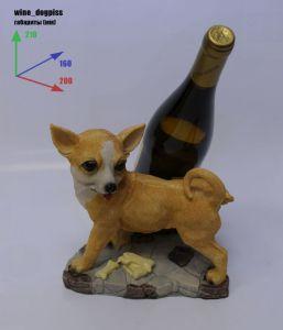 Подставка для вина «Собачка писает на бутылку»