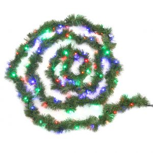 """LED-э.г.""""Хвойная"""", 100 разноцветных светодиодов, 6м"""
