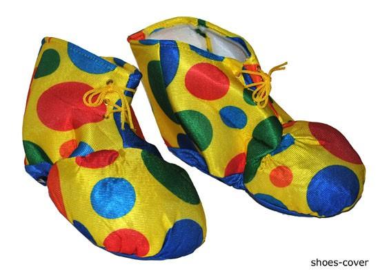 Как сделать обувь для клоуна