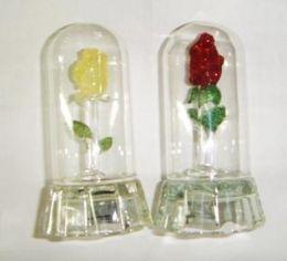 Роза в колбе (стекло)