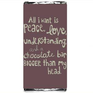 Шоколадка All I want