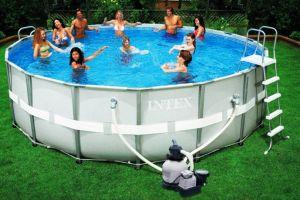 Каркасный бассейн 549х132см + аксессуары, INTEX