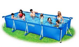 Каркасный бассейн 450х220х84см + фильтрующий насос