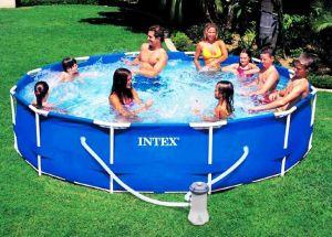 Каркасный бассейн 366х76см + фильтрующий насос