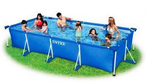 Каркасный бассейн 300х200х75см, INTEX