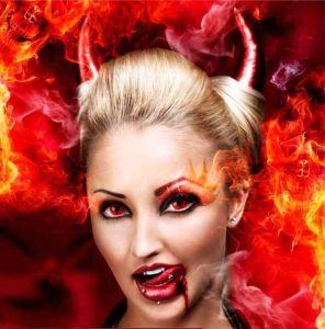 """Линзы """"Дьявол"""""""