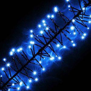 Спираль синяя, 180 светодиодов