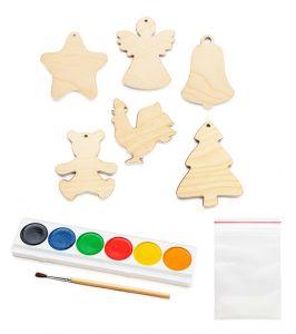 Набор Светящиеся игрушки на елку