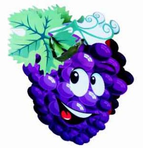 Пакет бумажный Виноград