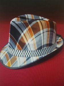 Шляпа Гангстера в клеточку