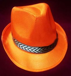 Шляпа Гангстера оранжевая