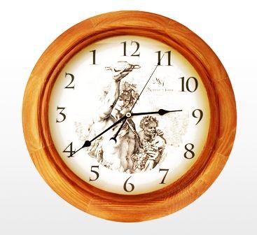 Прикольные часы