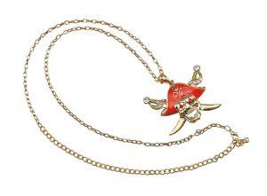 Ожерелье пирата череп