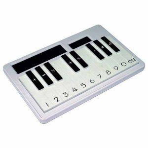 Калькулятор Пианино (белый)