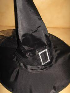 Колпак черный с пряжкой