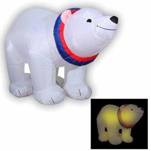 """Надувная фигура """"Медведь-полярник"""""""
