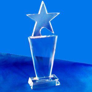 Звезда стеклянная (18 см)