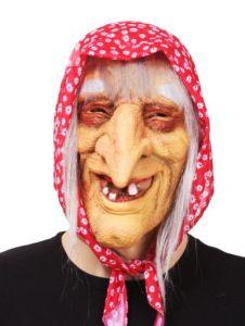 Баба Яга в цветном платке