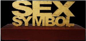 """Cувенир """"SEX SYMBOL"""""""
