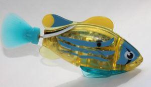 Роборыбка Желтый полосатик (светящаяся)