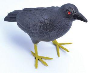Ворона пластик.