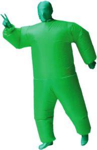 """Костюм надувной """"Зеленый человек"""""""