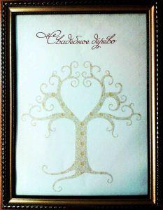 """Свадебное дерево пожеланий """"Сердце"""""""