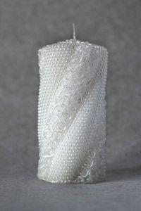 Свеча декоративная №2 (белый)
