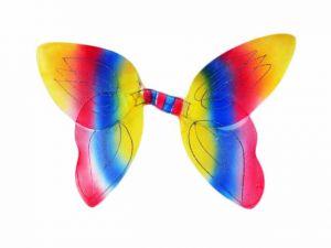 Крылья бабочки радужные
