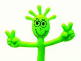 Ручка Человечек зеленая