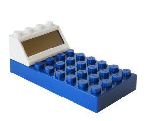 "Калькулятор ""Конструктор"" синий"