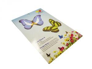 """Стикер """"2 бабочки"""" 3"""