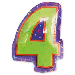 Шар фигура цифра 4