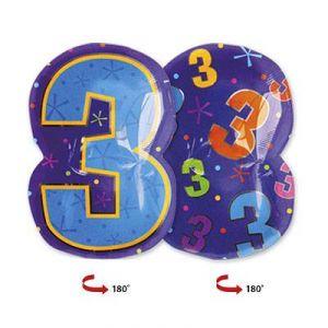 Шар фигура цифра 3