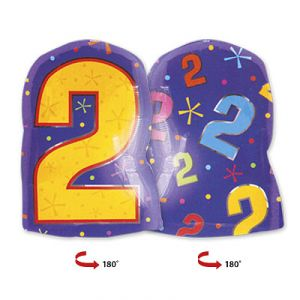 Шар фигура цифра 2