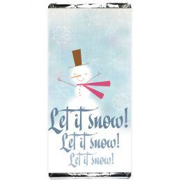 Шоколадка Let it snow