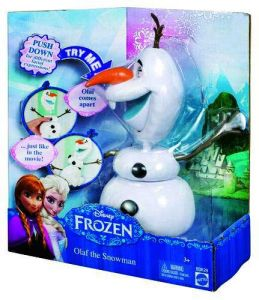 Кукла снеговик Олаф из м/ф 'Холодное сердце'