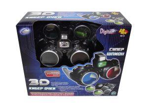 Очки 3D с функцией ночного видения и светодионой подсветкой