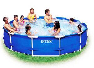Каркасный бассейн 366х76см, INTEX