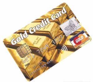 Gold Credit Card (8Gb слитки)