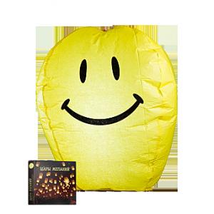 Шар Желаний Желтый Смайлик