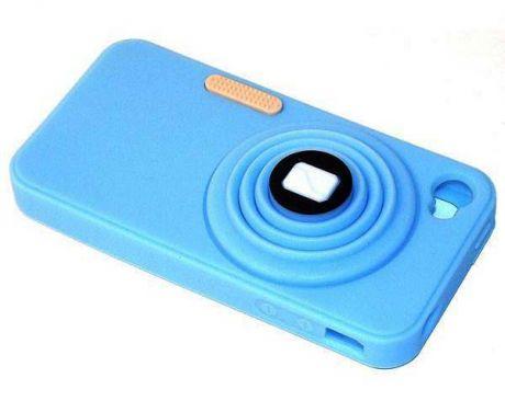 Фотоаппарат (синий)